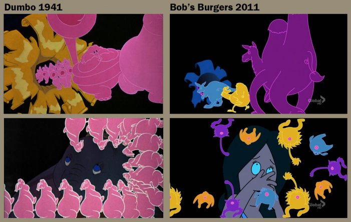 Bobs Burgers vs. Dumbo